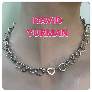 🔴Authentic DAVID YIRMAN RETIRED Heart Choker ❤️🔴